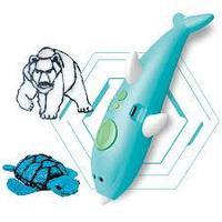3D ручка аккумуляторная беспроводная Дельфин (3д ручка), Алматы