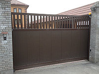 Автоматические откатные ворота, фото 1