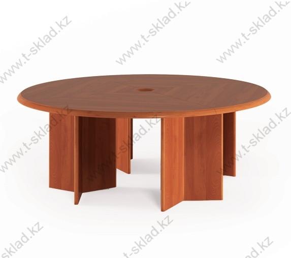 Стол для переговоров круглый 2100х2100х735