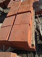 """Брусчатка и тротуарная плитка 330x330x30 """"Паркет"""" Красный"""