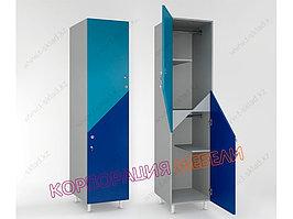 Шкаф для раздевалки «Дабл 2»
