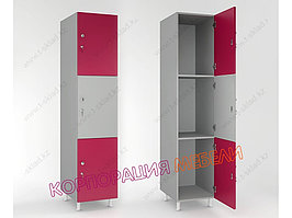 Шкаф для раздевалки «Трипл»