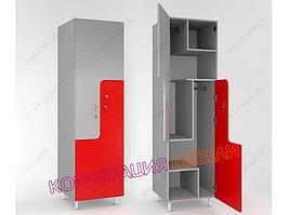 Шкаф для раздевалки «Z-образный 3»