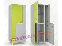 Шкаф для раздевалки «Z-образный 4», фото 1