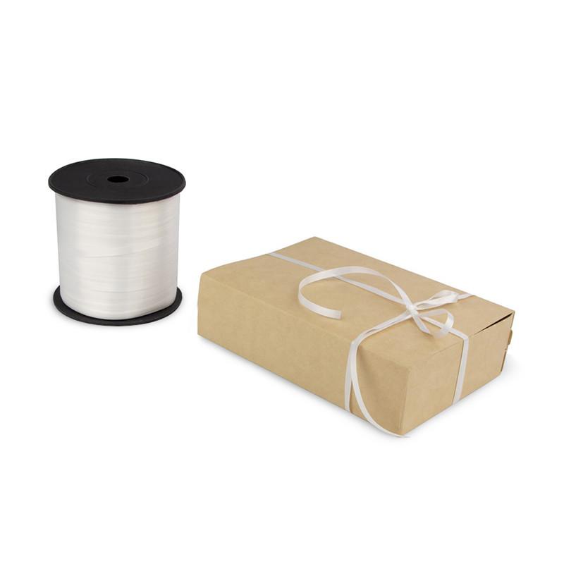 Лента декоративная 0,5 см (белая)*500 метров