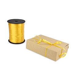Лента декоративная 0,5 см (желтая)*500 метров