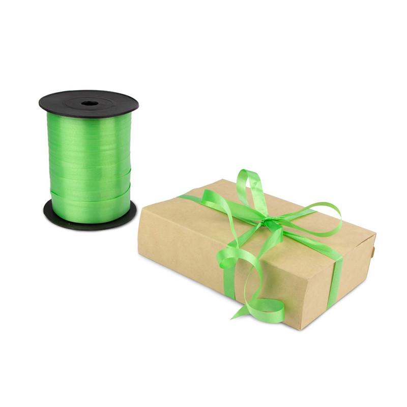 Лента декоративная 0,5 см (зеленая)*500 метров