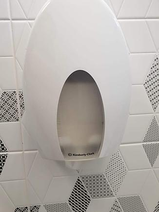 Kimberly Clark диспенсер для листовой туалетной бумаги Aqua 6975, фото 2
