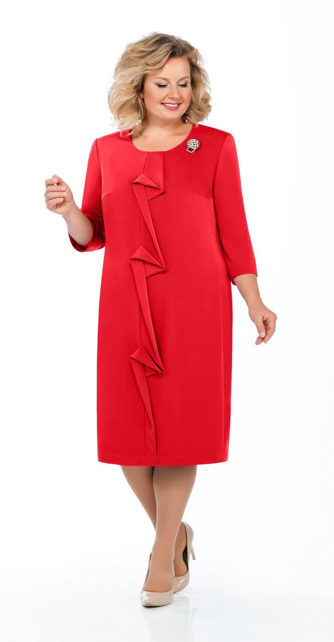 Платье Pretty-919, красный, 54