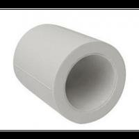 Муфта д.20 мм  (сер)