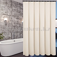 Водонепроницаемая тканевая шторка для ванной HangJie телесная 180*180 см 888