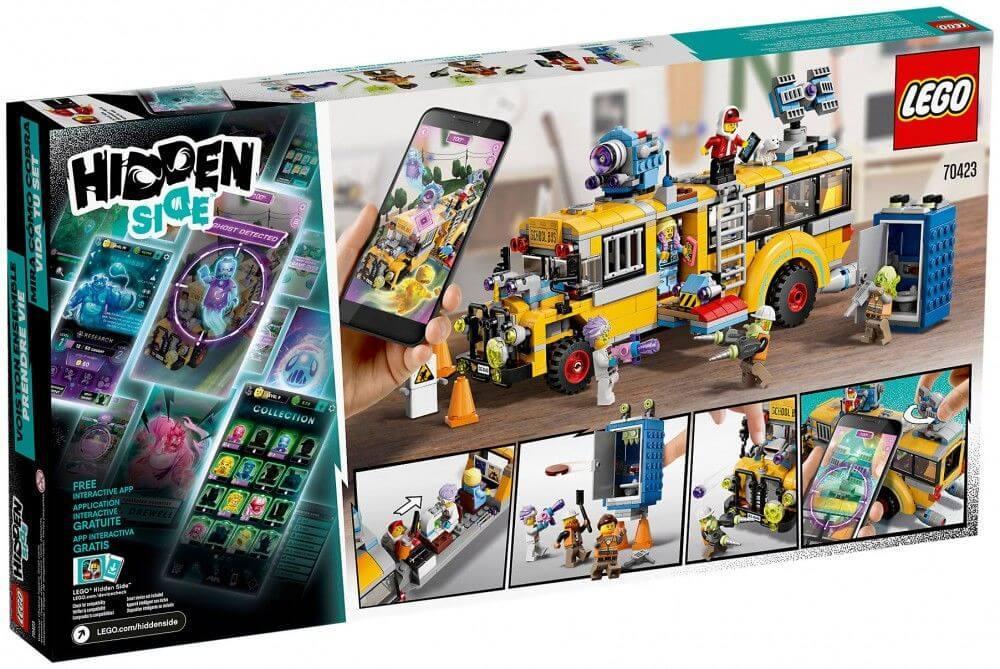 LEGO: Автобус охотников за паранормальными явлениями 3000 Hidden Side 70423