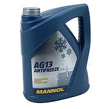 Концентрированный Антифриз MANNOL Hightec Antifreeze AG13  5L