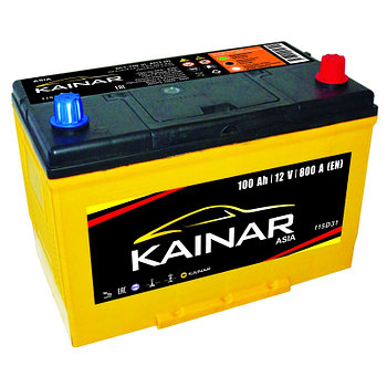 Аккумулятор автомобильный KAINAR ASIA 6СТ-100 VL AПЗ (0)