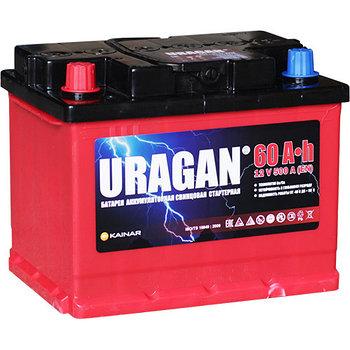 Аккумулятор URAGAN 6СТ-60 VL AПЗ (1)