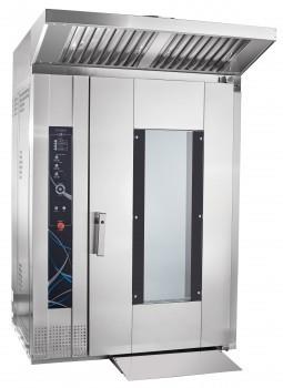 Ротационный пекарский шкаф РПШ-16-2/1М, увеличенное стекло двери, регулировка скорости вращения вентиляторов,