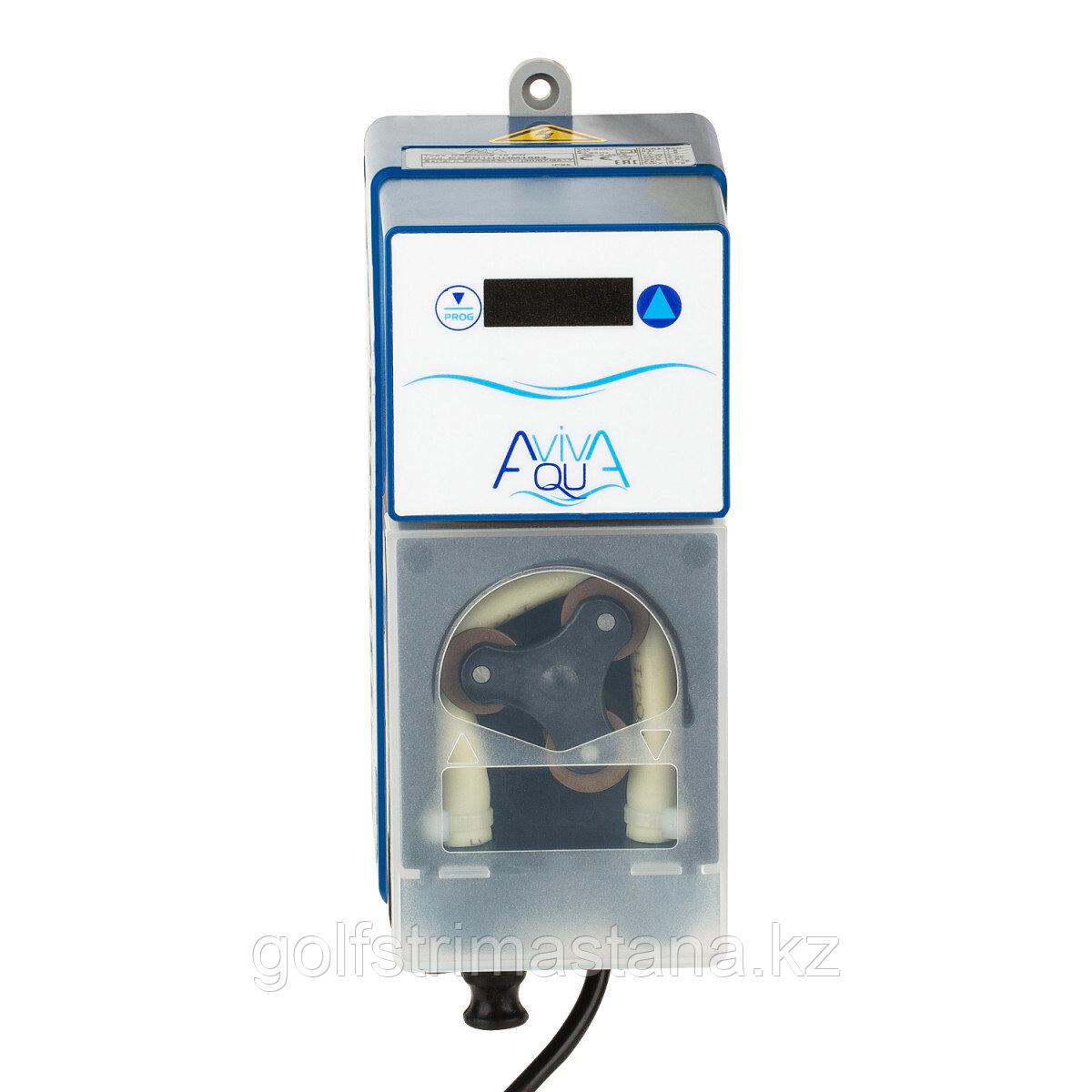 Перистальтический дозирующий насос AquaViva KXPH1H1HM1004 / Ph 1,5 л/ч с авто-дозацией, фиксир. скорость