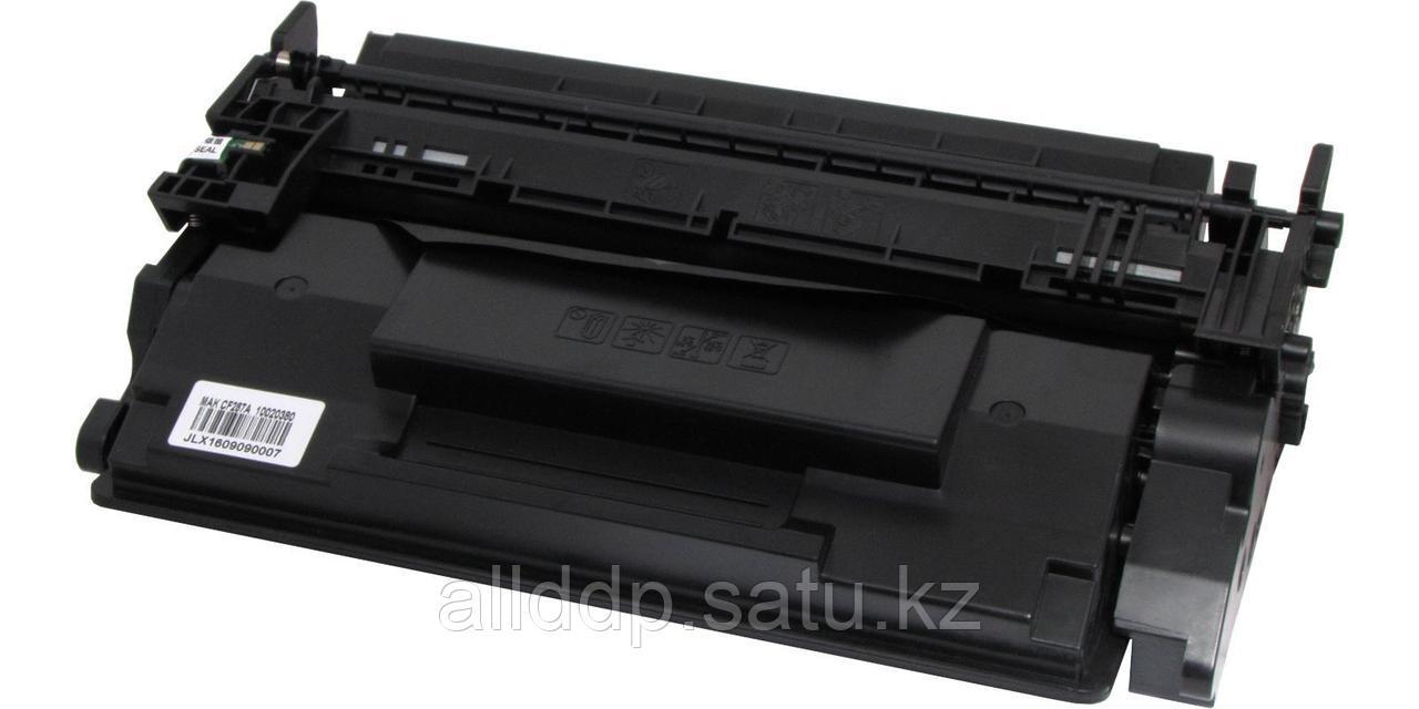 Картридж лазерный HP MAK© №87A CF287A черный (black), до 9000 стр., высший сорт