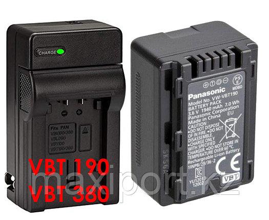 Зарядка panasonic  VW-VBT190 VBT-380, фото 2