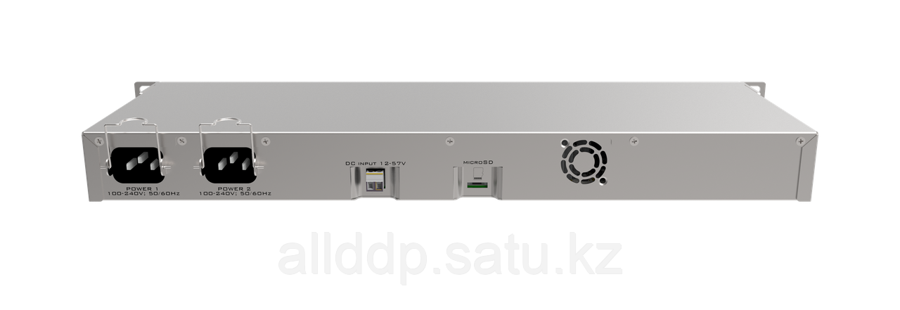Маршрутизатор MikroTik RB1100Dx4 RouterBOARD 1100AHx4 Dude Edition with Annapurna Alpine AL21400 Cortex A15 CPU (4-cores, 1.4GHz per core), 1GB RAM