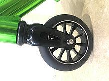 Трюковый самокат SHOW YOURSELF Black-Green (Хром), фото 3