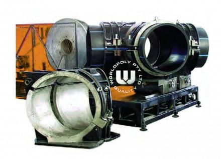 Машина для изготовления фитингов PolyWorkshop 800/355