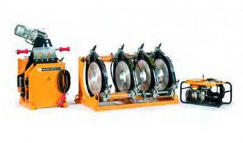 Гидравлическая машина для стыковой сварки Worldpoly 450