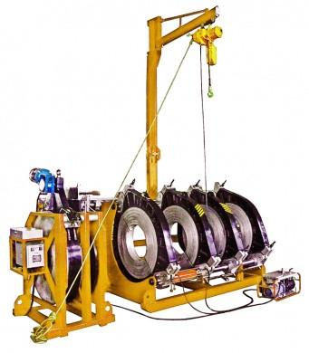 Гидравлическая машина для стыковой сварки Worldpoly 1200