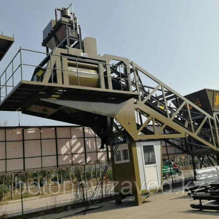 Бетонный завод модель JS-750 (бетоносмесительный узел)