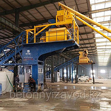 Бетонный завод модель JS-1000 (Бетоносмесительный узел)