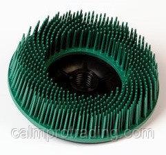 Диск зачистной 3M Scotch-Brite Bristle Ø 115 мм М14 Р50 (торцевой, зеленый)