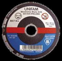 Диск отрезной 125х3,2x22,2 мм UNIFAM