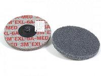Диск зачистной 3M Scotch-Brite XL-UR 6A MED 2XNH Ø 50,8 мм с креплением Roloc