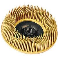 Диск зачистной 3M Scotch-Brite Bristle Ø 115 мм М14 Р80 (торцевой, желтый)