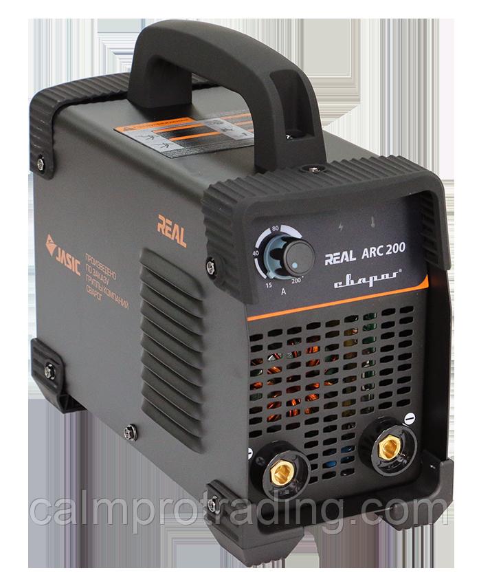 Инвертор сварочный ARC 200 Z238 Black (маска, краги) REAL