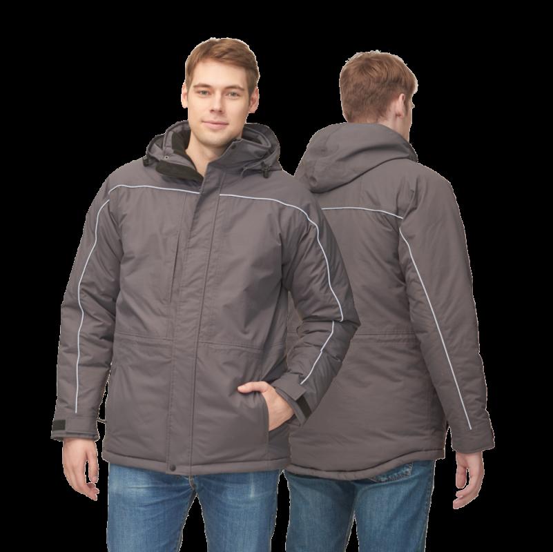 Утепленная куртка нового поколения, StanNorth, 31M, Тёмно-серый (100), XXL/54