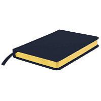 Ежедневник недатированный Joy, А5,  темно-синий, белый блок, золотой обрез, Темно-синий, -, 24606 26