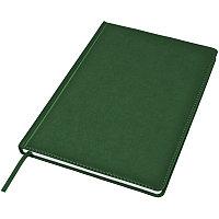 Ежедневник недатированный Bliss, А4,  темно-зеленый, белый блок, без обреза, Зеленый, -, 24602 17