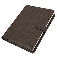 Ежедневник недатированный Coach, B5, коричневый, кремовый блок, подарочная коробка, Коричневый, -, 24735 14