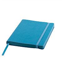Ежедневник недатированный Shady, А5, голубой, кремовый блок, лазурный обрез, Голубой, -, 24700 21