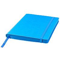 Ежедневник недатированный Shady, А5, лазурный, кремовый блок, синий обрез, Синий, -, 24700 31