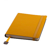 Ежедневник недатированный Boomer, А5, желтый, кремовый блок, без обреза, Желтый, -, 24702 03