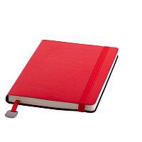 Ежедневник недатированный Boomer, А5, красный, кремовый блок, без обреза, Красный, -, 24702 08