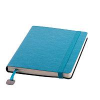 Ежедневник недатированный Boomer, А5, лазурный, кремовый блок, без обреза, Синий, -, 24702 31