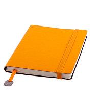 Ежедневник недатированный Boomer, А5, оранжевый, кремовый блок, без обреза, Оранжевый, -, 24702 06