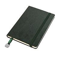 Ежедневник недатированный Boomer, А5,  темно-зеленый, кремовый блок, без обреза, Зеленый, -, 24702 17, фото 1