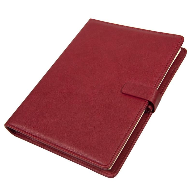 Ежедневник недатированный Coach, формат B5 в подарочной коробке, Бордовый, -, 24735 13