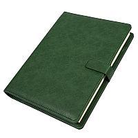 Ежедневник недатированный Coach, B5, зеленый, кремовый блок, подарочная коробка, Зеленый, -, 24735 15, фото 1
