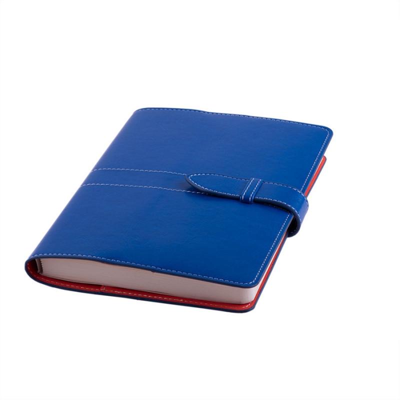 Ежедневник-портфолио недатированный HOLDER,  формат А5, Синий, -, 24727 24 06