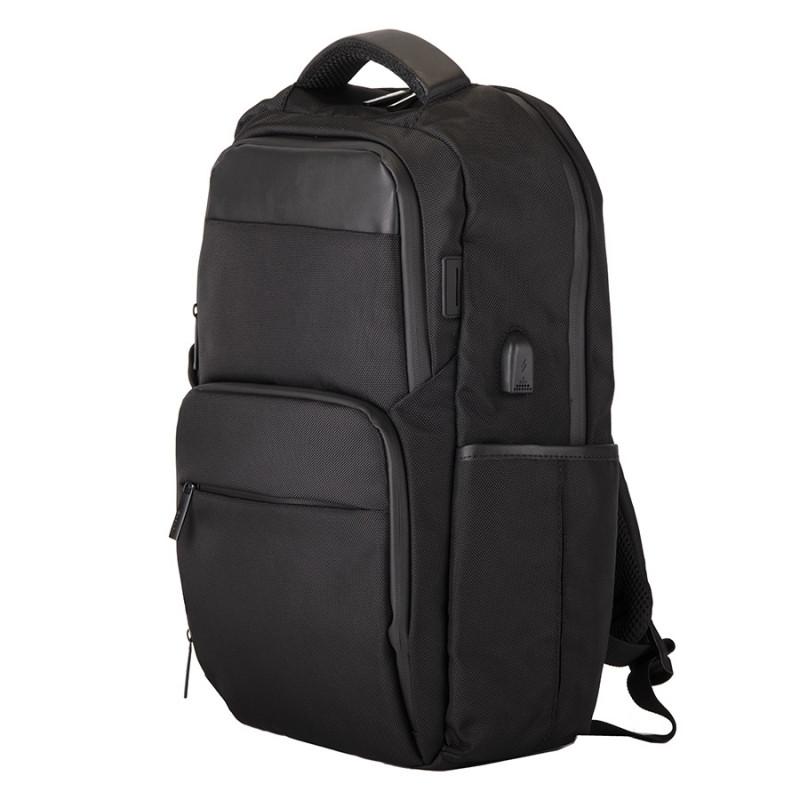 Рюкзак SPARK c RFID защитой, Черный, -, 970113 35